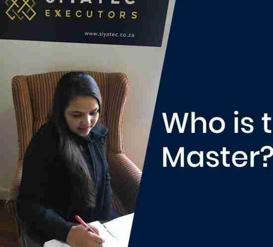 Deceased estates - who is the Master?